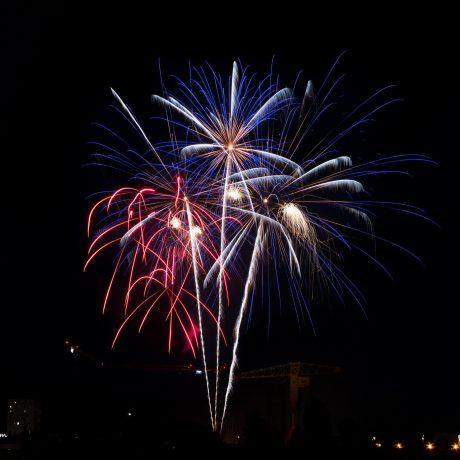 feu d'artifice de Nantes